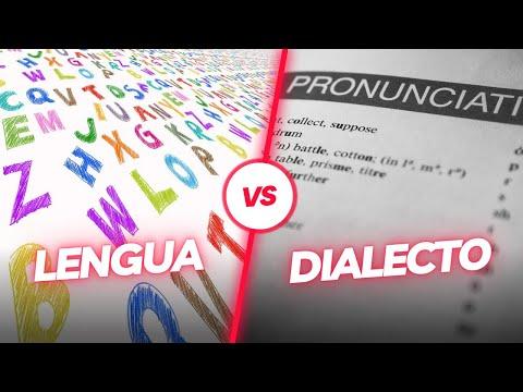 Lengua Y Dialecto, Significados Y Diferencias