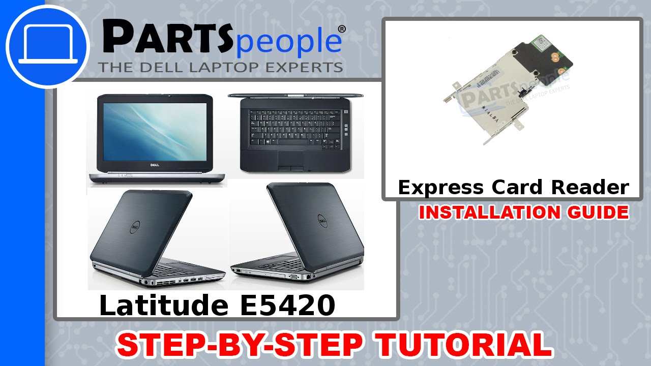 Dell Latitude E5420 Express Card Reader How-To Video Tutorial