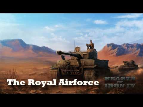 Hearts of Iron IV - The Royal Airforce
