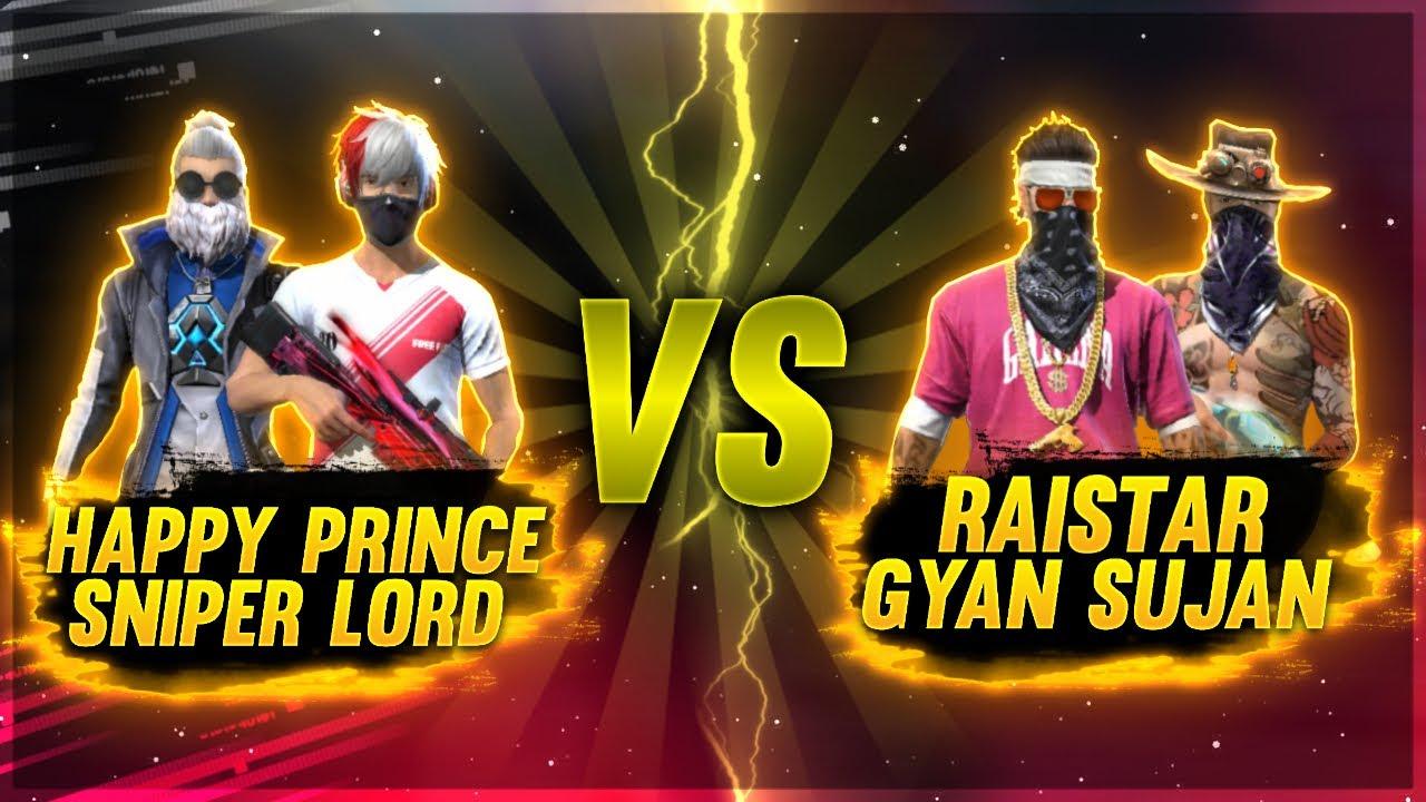 "Raistar vs Sniper""Lord -  Alok vs Adam OP Match! - Garena Free Fire @Rai Star"