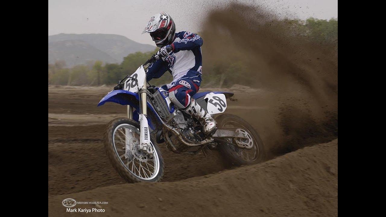 2008 Yamaha YZ450F First Ride - MotoUSA - YouTube