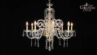 Iokasti Collection Crystal Chandeliers Video
