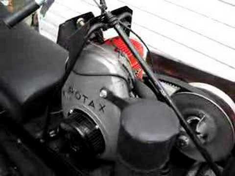 bombardier rotax 299cc youtube