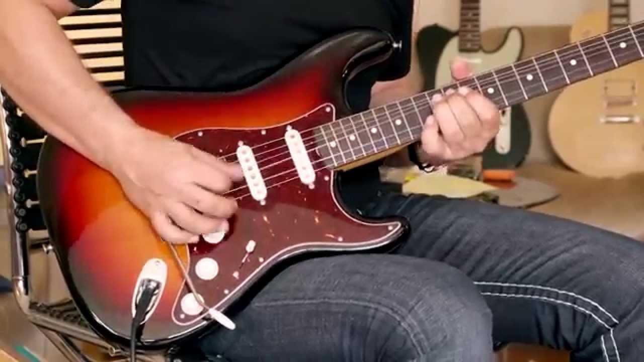 2012 fender stratocaster john mayer signature sunburst youtube