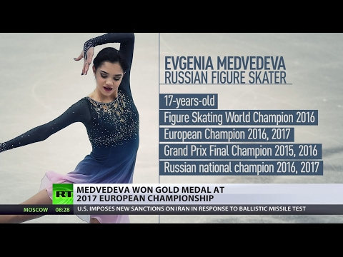 Golden Record: Russian teen crushes World Figure Skating Championship