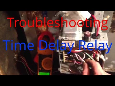 HVAC Service: Troubleshooting Time Delay fan relay on a Trane Air Handler