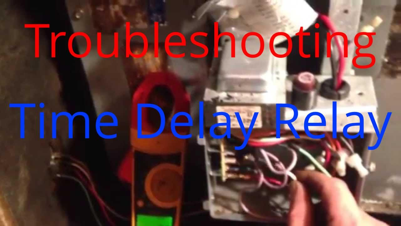 hight resolution of hvac service troubleshooting time delay fan relay on a trane air handler youtube