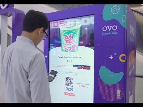 인도네시아 간편 결제 대표 브랜드 'OVO'의 스마트 자판기가 제공하는 추천 서비스의 심장 'Kinetica Active Analytics Platform'