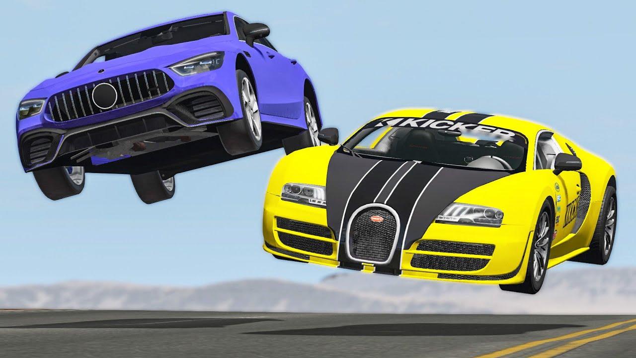 Download Street Racing Car Crashes #41 - BeamNG Drive | CRASHdriven