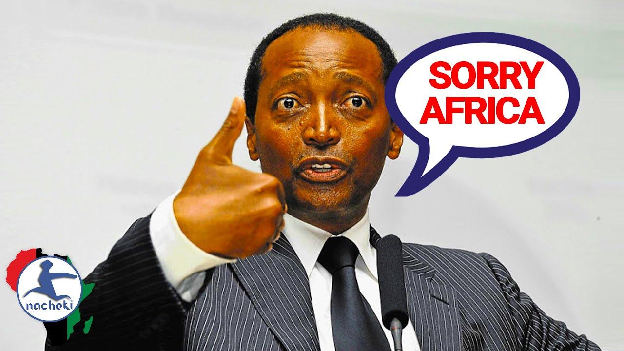 African Billionaire Motsepe Sorry for 'Africa loves Trump' Remark