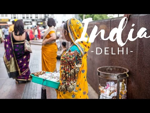 India Travel Vlog: Delhi