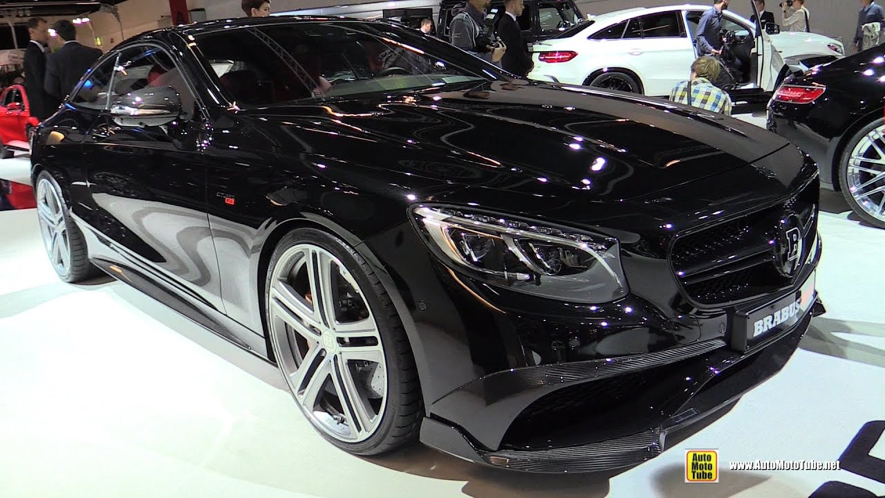 2016 mercedes s63 amg coupe brabus 850 exterior interior walkaround 2015 frankfurt motor. Black Bedroom Furniture Sets. Home Design Ideas
