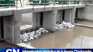 Infraestructura hidráulica de la Laguna de  Choclococha SERA REESTRUCTURADA