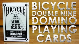 Deck Review - Bicycle Double Nine Domino Playing Cards