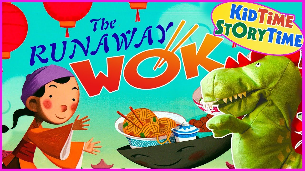 The Runaway Wok A Chinese New Year Folk Tale READ ALOUD