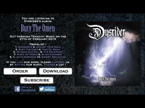 DYSRIDER - Bury The Omen (2015) - FULL ALBUM STREAM