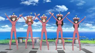 Girls und Panzer Anglerfish Dance (Full Version)