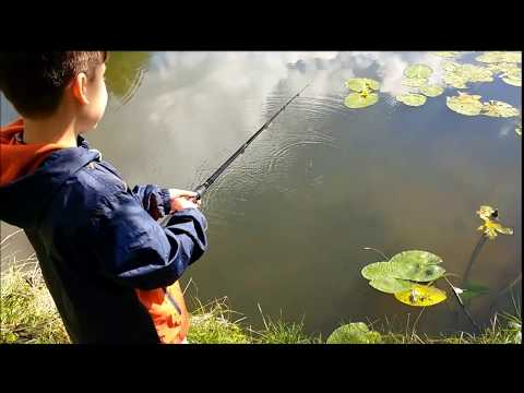 Will And Tom Go Fishing - Fossdyke, Lincoln