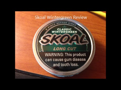 Skoal Long Cut Wintergreen Review