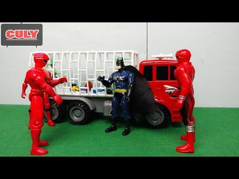 Phìm hài Siêu nhân đánh Batman bắt cóc trẻ em bán sang Trung Quốc lấy nội tạng kid lego toy for kid
