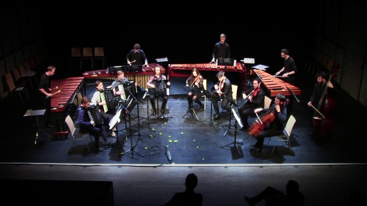 J.S. Bach - Konzert für 4 Cembali - BWV 1065 - 1.  Satz (Bearbeitung für 4 Marimben und 4 Akkordeon)