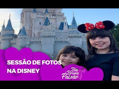 SESSÃO DE FOTOS NA DISNEY