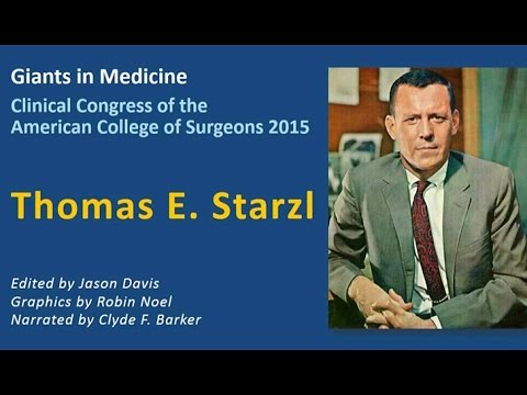 Icons in Surgery: Thomas E. Starzl, MD, FACS
