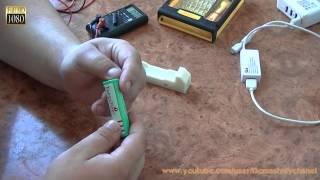 видео 18650 аккумулятор - как восстановить