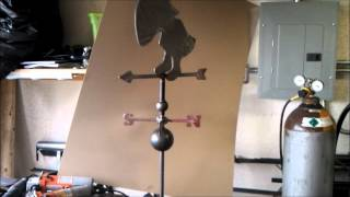 Completed Weather Vane