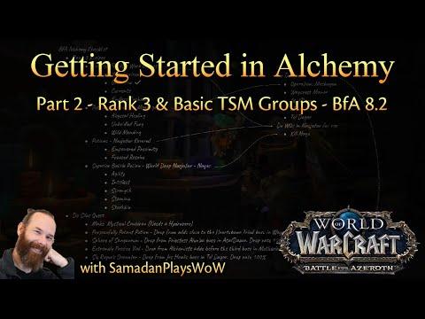 Getting Started in Alchemy - Part 2 - Rank 3 & Starting TSM