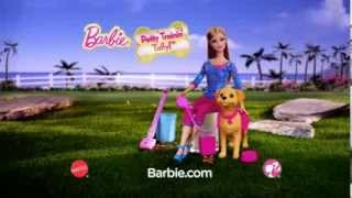 2014 ° Barbie Potty Training Taffy Dolls Commercial