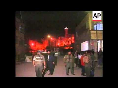 West Bank - Violent clashes in Hebron