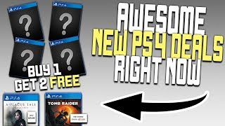 Awesome New PS4 Game Deals Right Now - Buy 2 Get 1 Free, Star Wars + More!