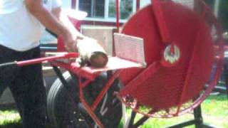 Buzz Saw Saved From Scrap  Part 3 of 4  With Farmall Super A