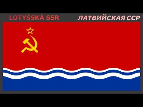 Флаги союзных республик СССР - Vlajky Svazových republik SSSR