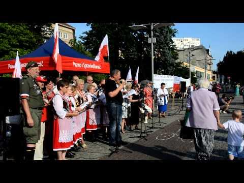 Patriotyczny Szczecin: Pieśń - Rozkwitały pąki białych róż
