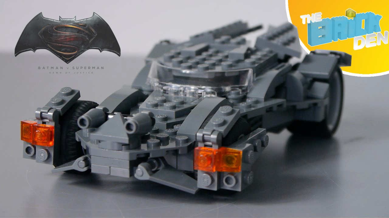 lego batman v superman batmobile m o c showcase youtube. Black Bedroom Furniture Sets. Home Design Ideas