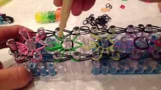 Цветные резиночки для плетения браслетов - Урок плетения