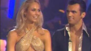 DWTS Stacy Keibler & Tony Dovolani Cha Cha (Week 7)