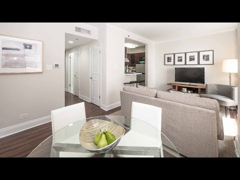 A 2-bedroom, 2-bath model on the Gold Coast / Streeterville border