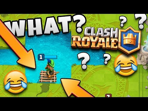 WHAT IS THIS!?  FLOATING TROOP  CLASH ROYALE COPY LOL