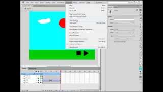 Flash CS6 Making Play and Stop Controls