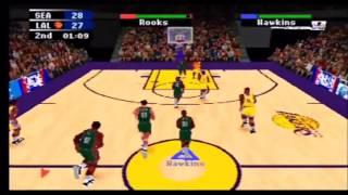 NBA Action 98 Sonics vs Lakers Part 2