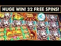 ★UNBELIEVABLE WIN!★💰 BONUSES IN BONUS! 🐯 32 SPINS OF AMAZINGNESS! MIGHTY CASH SLOT MACHINE HUGE WIN!
