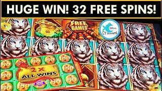 ★UNBELIEVABLE WIN!★💰 BONUSES IN BONUS! 🐯 32 SPINS OF AMAZINGNESS! MIGHTY CASH SLOT MACHINE HUGE WIN!