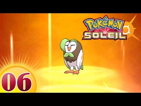 POKEMON SOLEIL #6 BRINDIBOU EVOLUE !! LET'S PLAY FRANÇAIS SUN & MOON