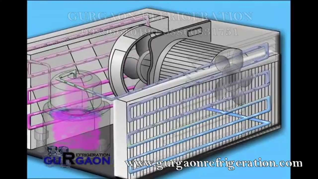 Air Conditioner Refrigerator Repair Installationservice In Youtube Freezer Compressor Wiring Diagram Gurgaon Sohna Road 08860831751