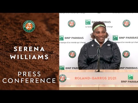 Serena Williams Press Conference after Round 4 I Roland-Garr