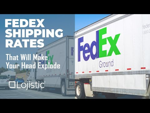 FedEx Shipping Rates That Will Make Your Head Explode