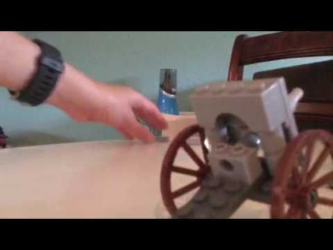 How to build a lego ww1 British field gun
